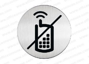 Durable Picto No Mobile Phones