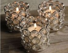 Crystal Votive Candle Holders