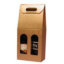 Corrugated Cardboard Wine Box