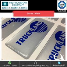 Custom Made Waterproof Dome Labels