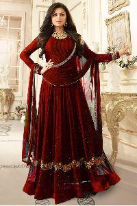 Georgette Anarkali Suit (ptas-1027)
