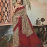 Bhagalpuri Khadi Silk Saree