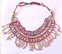 Gujarati Handmade Pearl Beaded Necklace