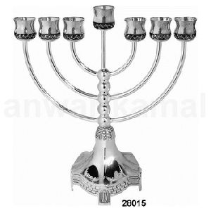 Church Menorah Decorative Candle Holder
