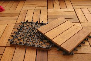 Joint Wooden Floor Mat