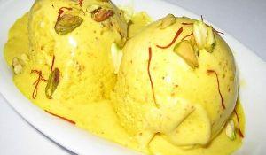 4 Litre Badam Kesar Rabri Ice Cream
