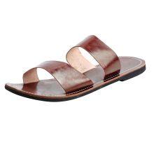 Leather Men\'s Casual Flip Flop Flat Slipper