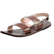 Leather Men\'s Sandal Flip Flops Flat Sandal