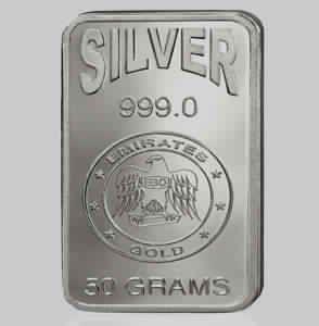 Rectangular Silver Bar