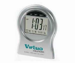 Digital Desk Clock with Multifunction Chrono style