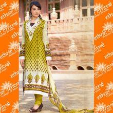 Cotton Printed Dress Materials Salwar Kameez Suit