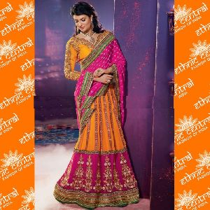 Lehenga Style Bollywood Saree
