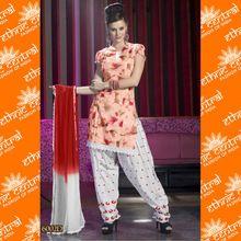 Punjabi Patiala Dress Materials Salwar Kameez Suit