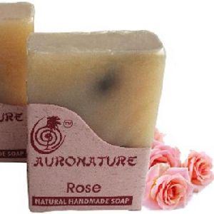Natural Handmade Rose Bath Soaps