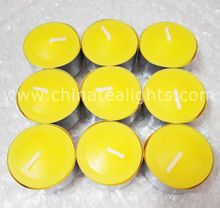 Citronella Scented Tealight Candles