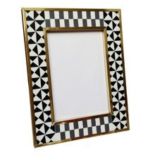 Decorative Buffalo Bone Photo Frame