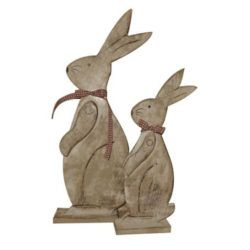 Hot Selling Wooden Christmas Decor Bunny