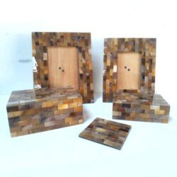 Material Horn Photo Frame And Box