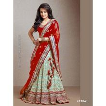 Indian Wedding Party Wear Designer Net Chaniya Choli