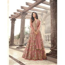 Net Embroidered Anarkali Suit