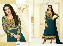 Embroidery Work Faux Georgette Long Salwar Kameez Suit