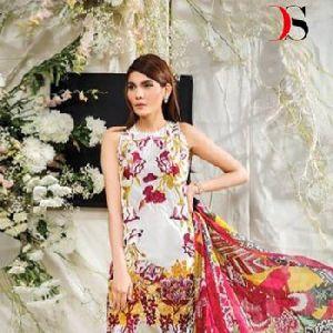 Latest Designer Cotton Embroidery Pakistani Indian Suits Women Dresses