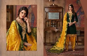 Suvarna Patiyala Kajree Fashion Readymade Suits