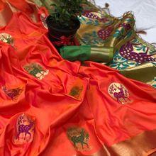 Rich Look Designer Kanjivaram Silk Saree