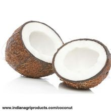 Coconut in Semi Husked