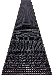 Hollow Design Rubber Roll Mat
