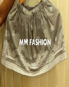 Girls Embroidered Skirt