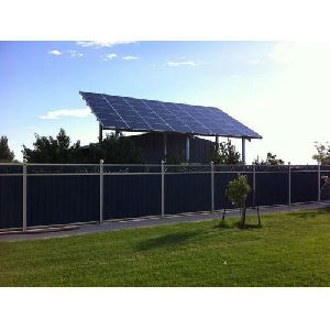 Commercial Solar Fencing System