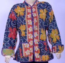 Handmade Quilted Ladies Short Winter Jacket