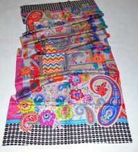 Silk Digital Print Shawl