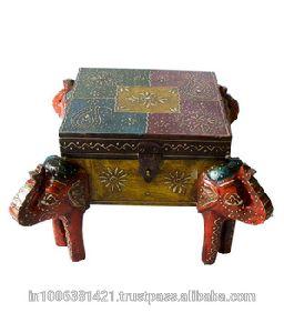 Indian Wooden Decorative Unique Beautiful Figure