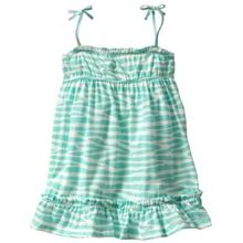Baby Girls Zebra Print Strappy Dress