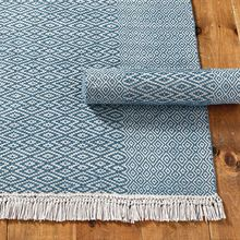 Hand Woven Jacquard Dhurry . Indian Jacquard Dhurry Rug