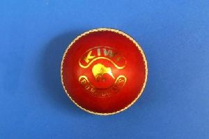 Bdm Kiwi Cricket Leather Ball