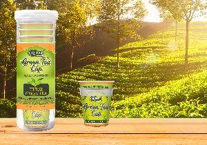 Gruner Green Tea Cup 10 Pcs Tulsi Flavor