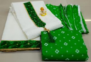 LABRI CHIKEN COTTON WITH PARTY WEAR DRESS MATERIAL