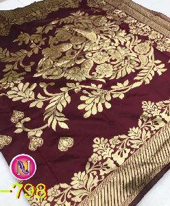Nnc - 798 Banarasi Handloom Silk Saree