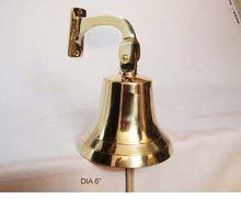 Brass Shiny Finish Ship Bell