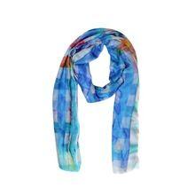 Custom Printed Indian Silk Scarves Shawls