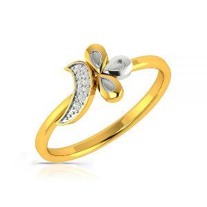 Dreamy Damsel Diamond Gold Ring