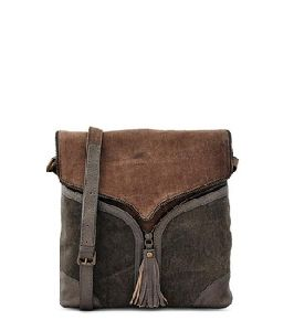 Recycled Canvas Leather Crossbody Women Sling Bags