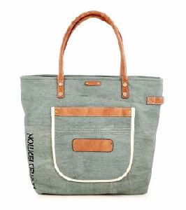 Printed Recycled Canvas Tote Bags