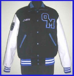 Royal Blue White Letterman Varsity jackets