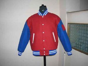 Royal Blue Varsity Jacket