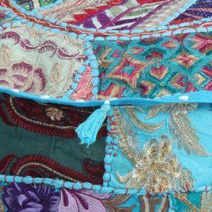 Home Decorative Handmade Pouf Ottoman