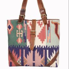 Vintage Traditional Made Women Handbag Rug